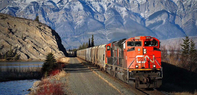 Dzelzceļa kravu pārvadājumi kalnos