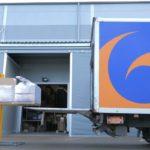 ACE Logistics kravu pārvadājumi, kravas iekraušanas process